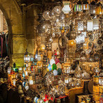Khan el-Khalili (Arabic: خان الخليلي‎) is a major souk in the Islamic district of Cairo. The bazaar district is one of Cairo's main attractions for tourists and Egyptians alike.